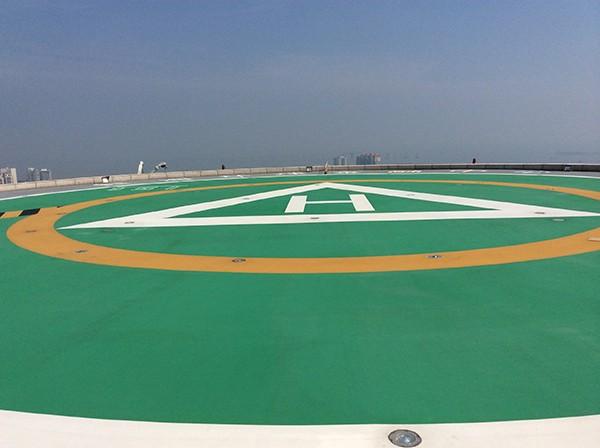 屋顶直升机坪的建筑艺术要怎么处理?