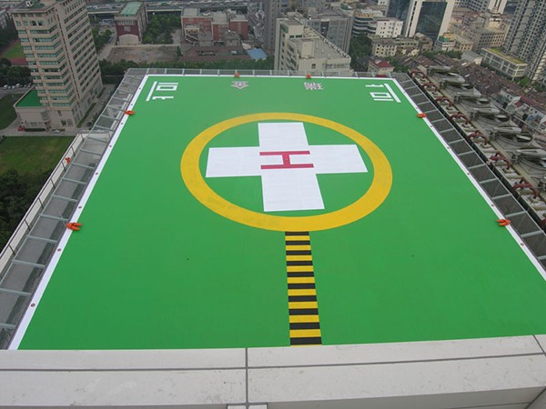 架起绿色生命通道 商洛国际医学中心紧急救援停机坪已建立