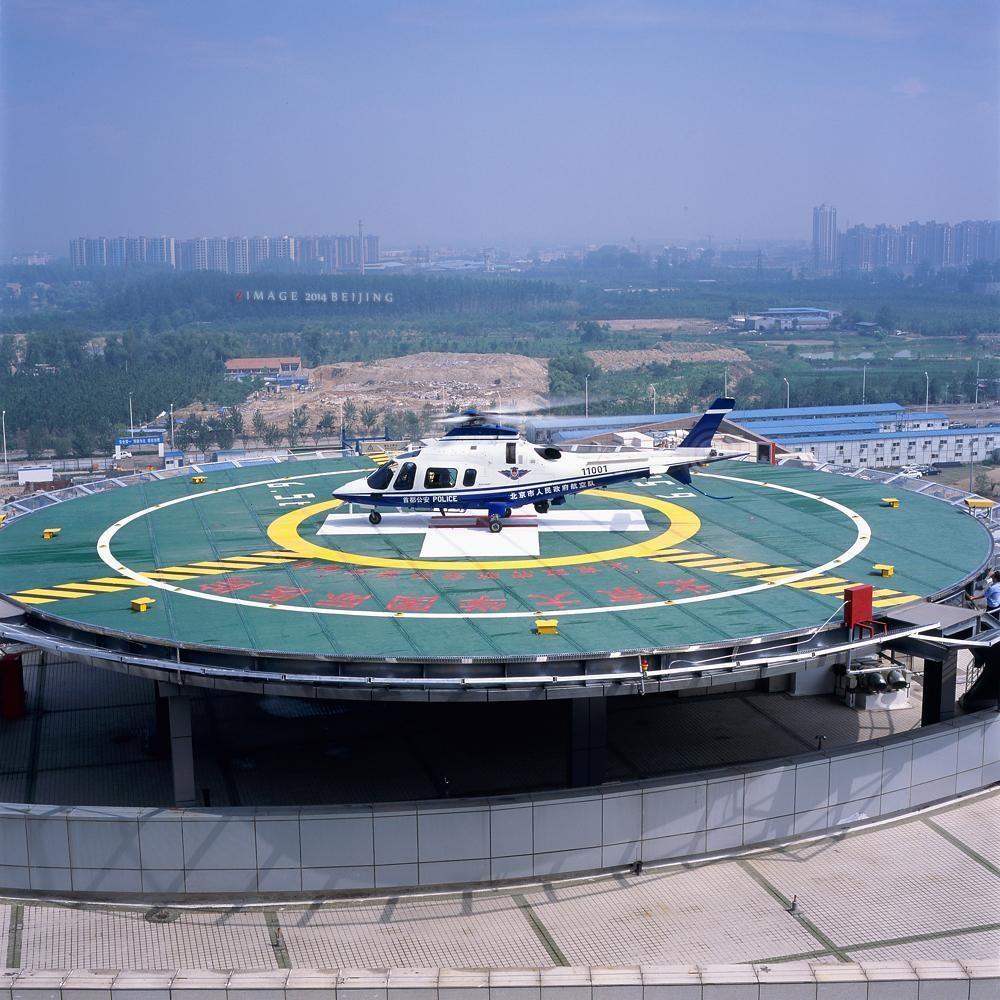 高层建筑顶层设立直升机停机坪的重要性